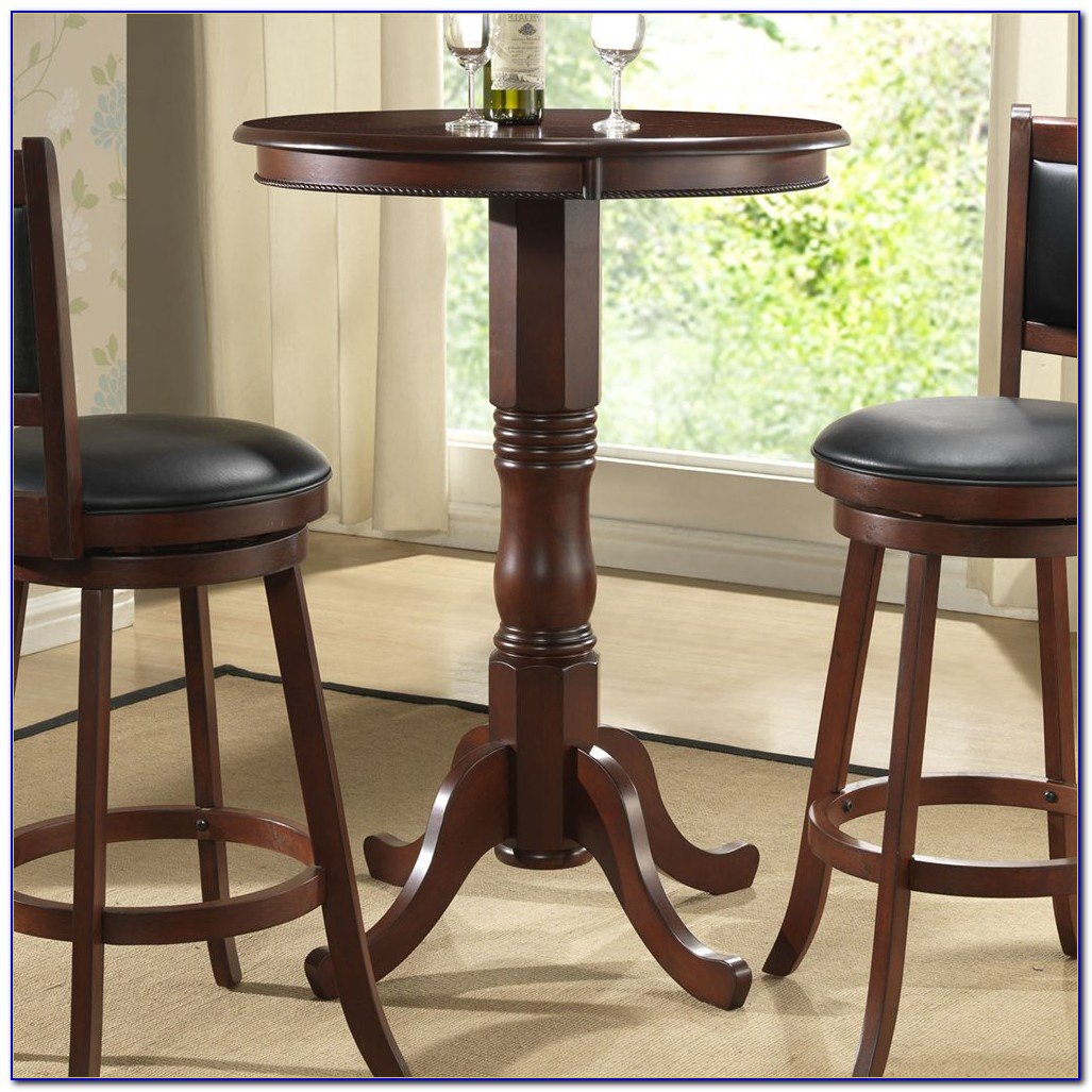 Round Bar Table And Chairs