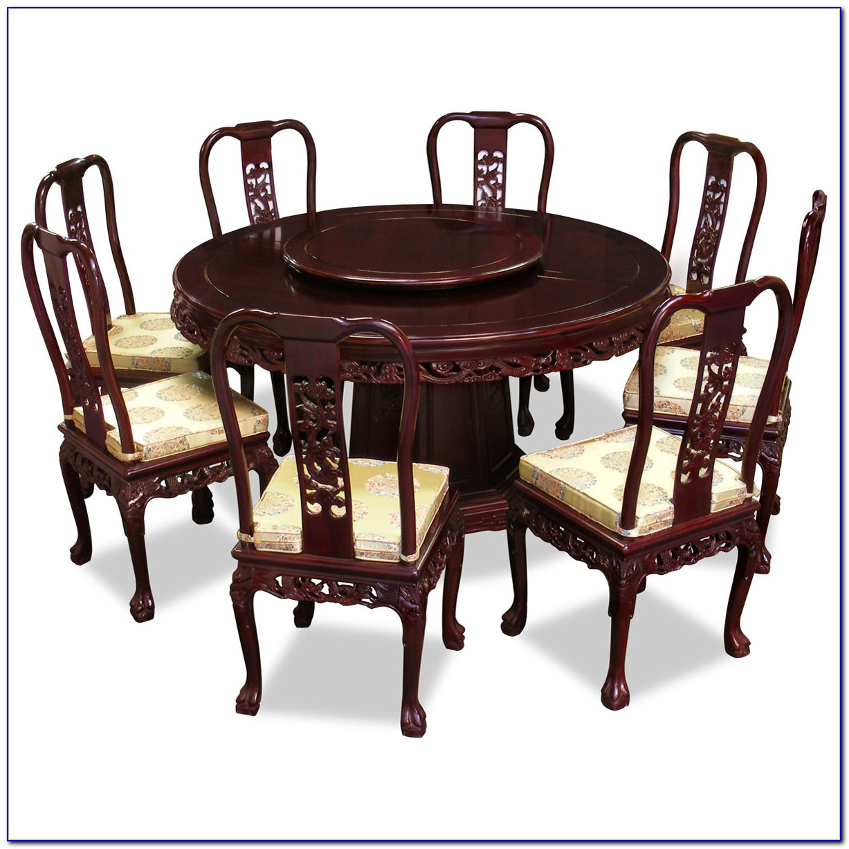Round Dining Table And Chairs Ebay