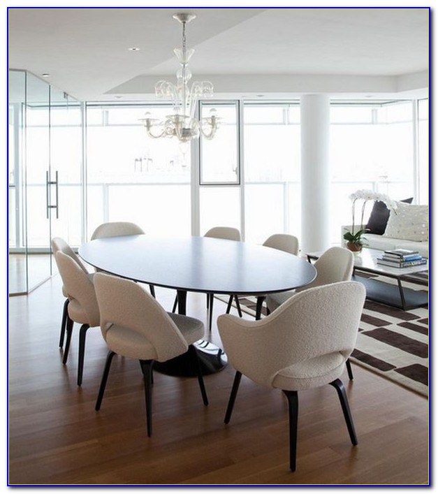 Round Dining Table And Chairs White
