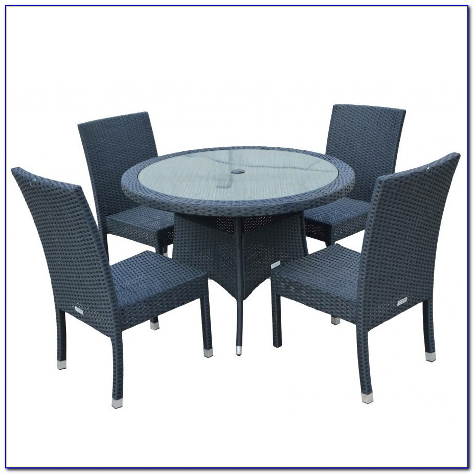 Round Table And Chairs For Patio
