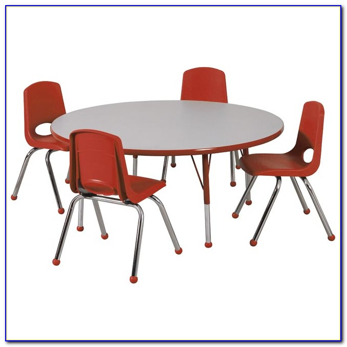 Round Table And Chairs Space Saver