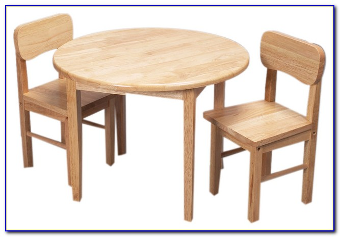 Round Table And Chairs With Casters