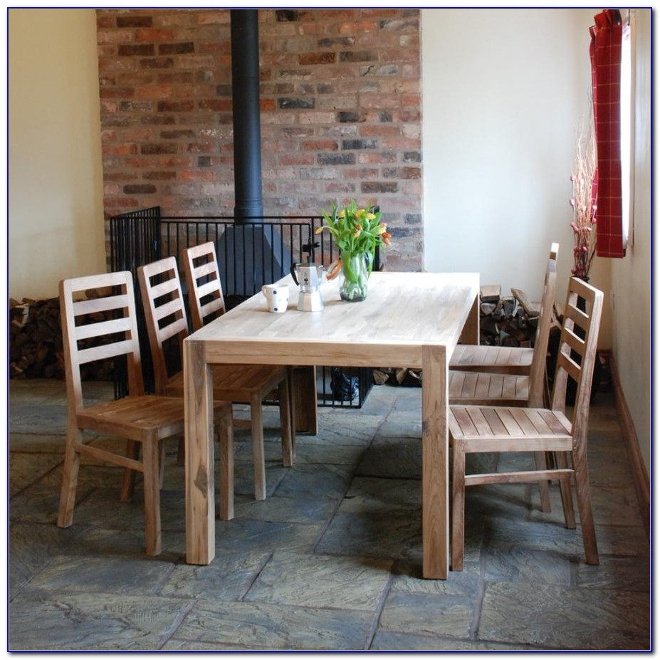 Rustic Farm Table And Chairs