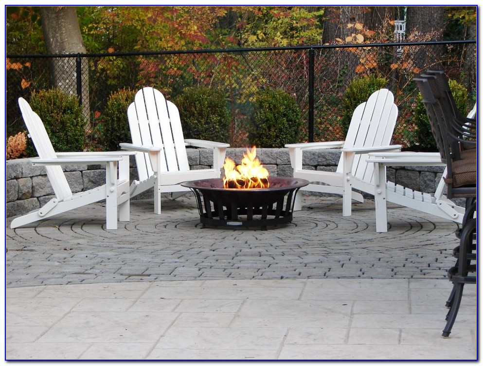 Seating Area Around Fire Pit