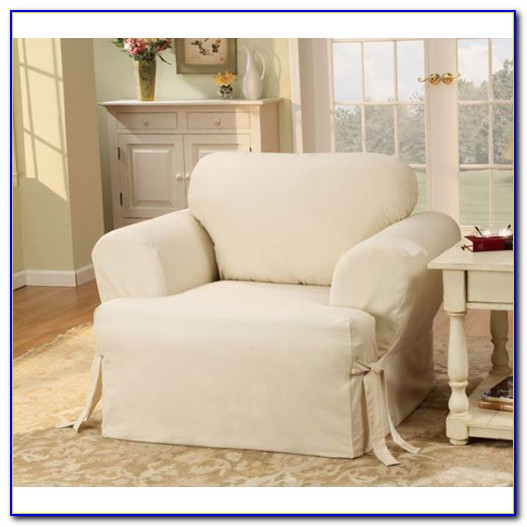 Slipcover For Chair With T Cushion