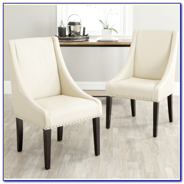 Sloping Arm Dining Chair