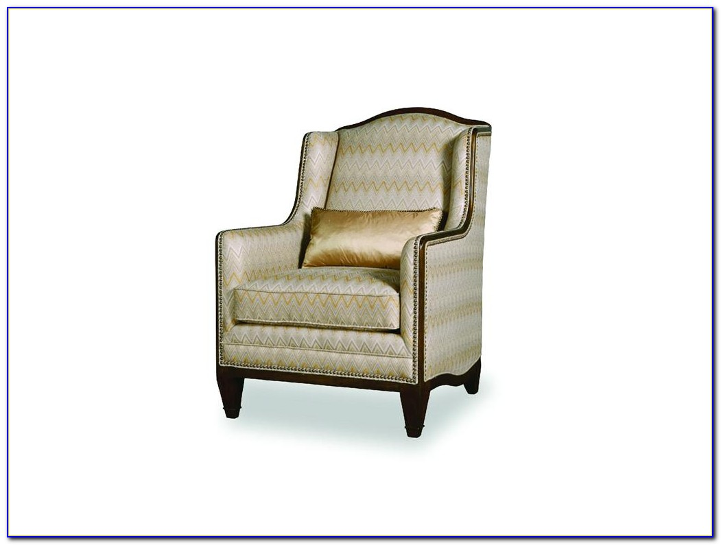 Small High Back Accent Chair