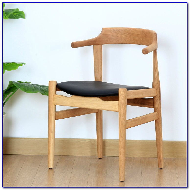 Solid Wood Dining Chairs With Arms
