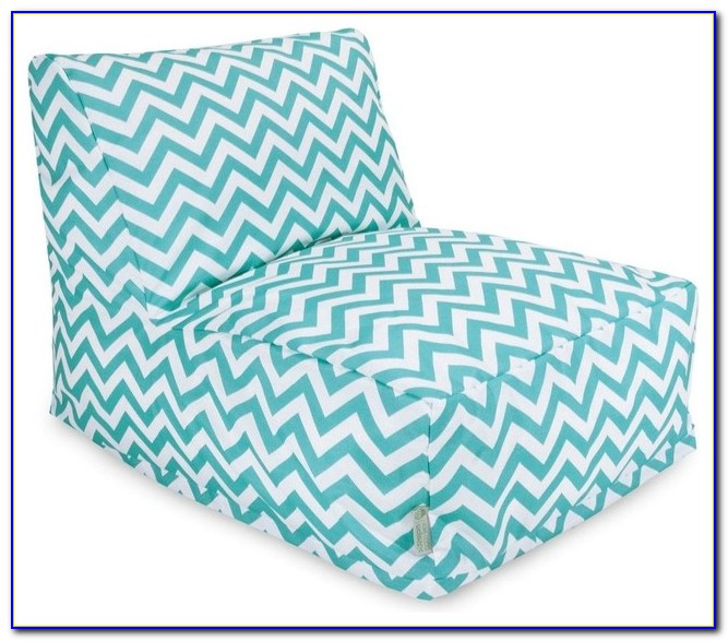 Teal Blue Bean Bag Chairs