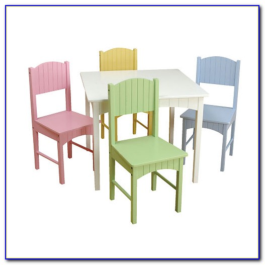 Toddler Table And Chair Set With Storage