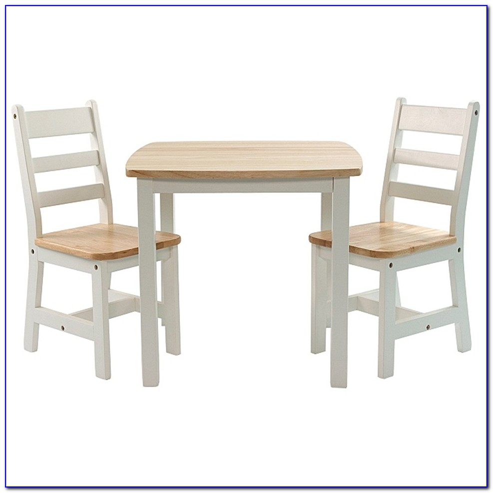 Toddler Table And Chairs White