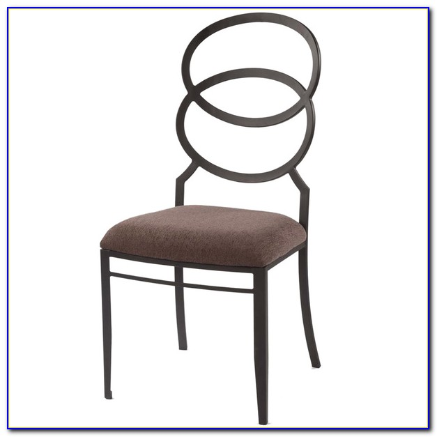 Upholstered Ring Back Dining Chairs