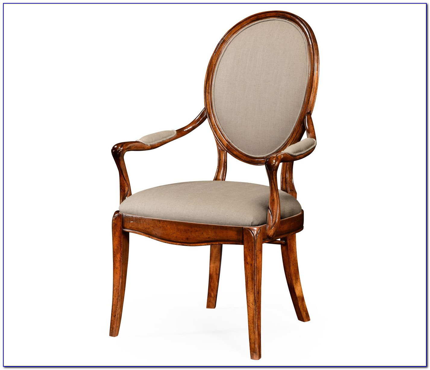 Upholstered Slope Arm Dining Chair