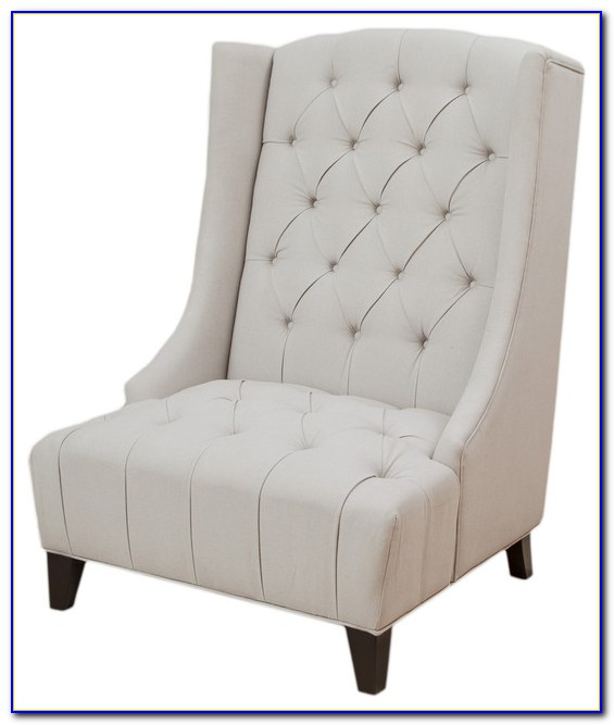 Upholstered Wingback Accent Chair