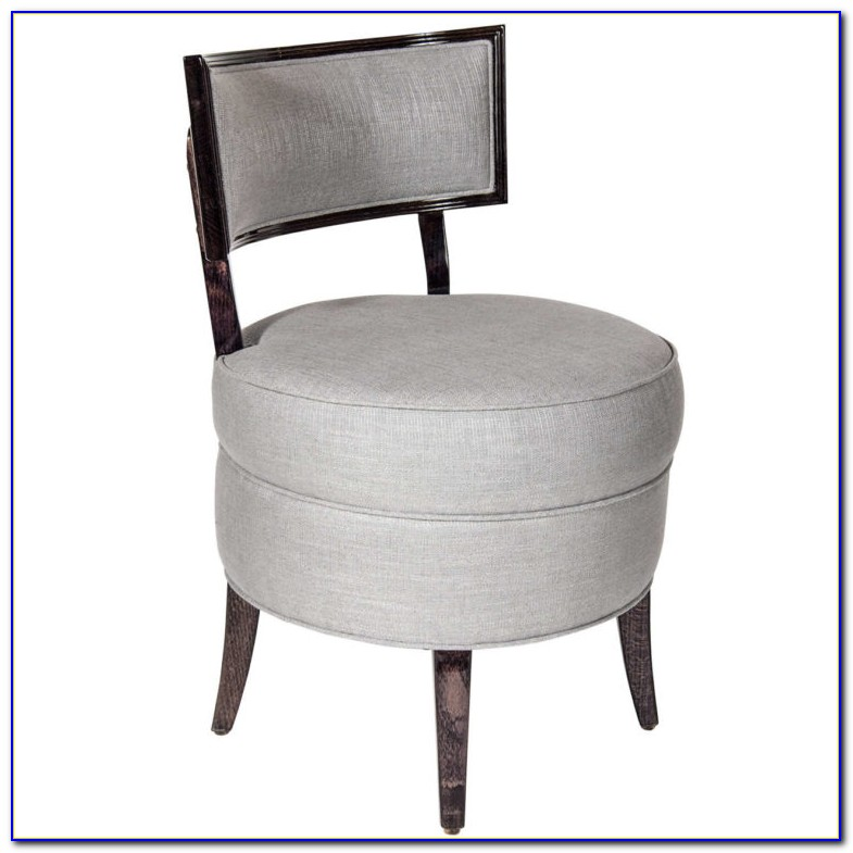 Vanity Chair With Back
