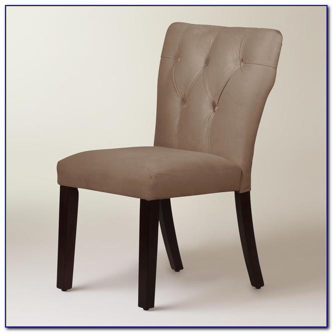 Velvet Tufted Dining Chairs