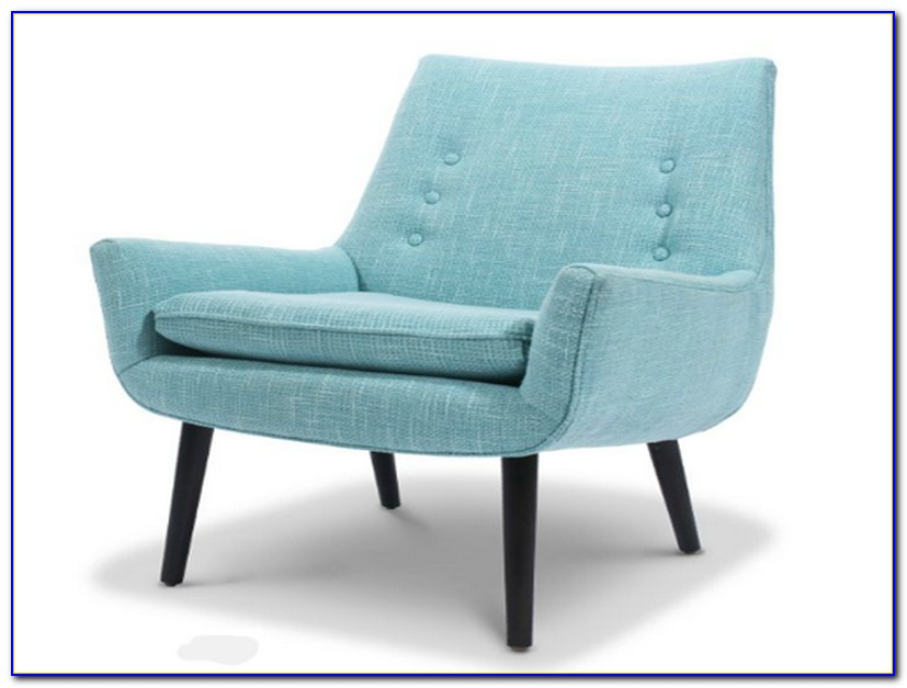Vicky Light Blue Accent Chair