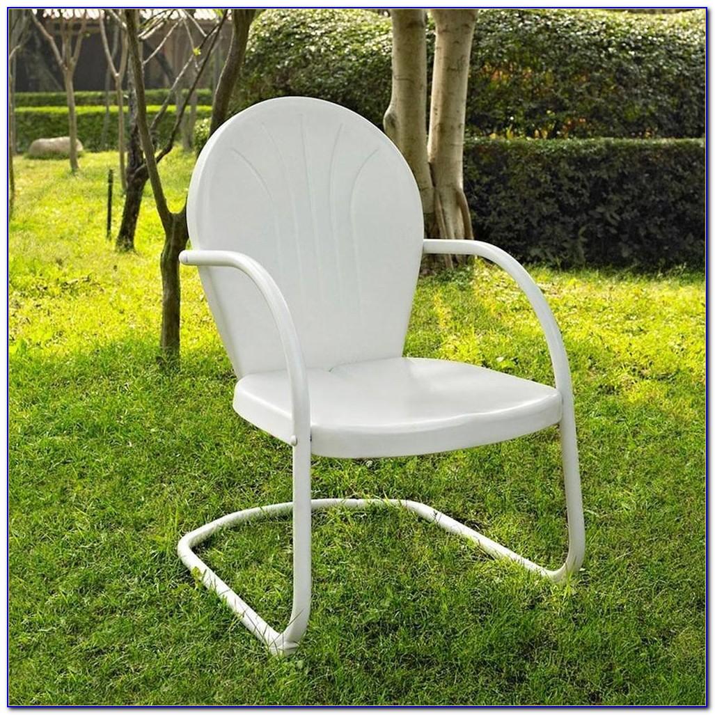 Vintage Iron Patio Chairs