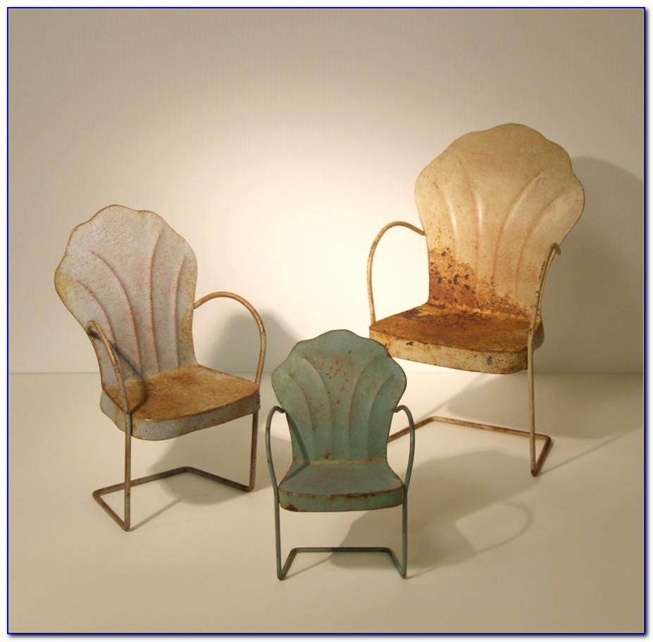 Vintage Metal Lawn Chair Colors