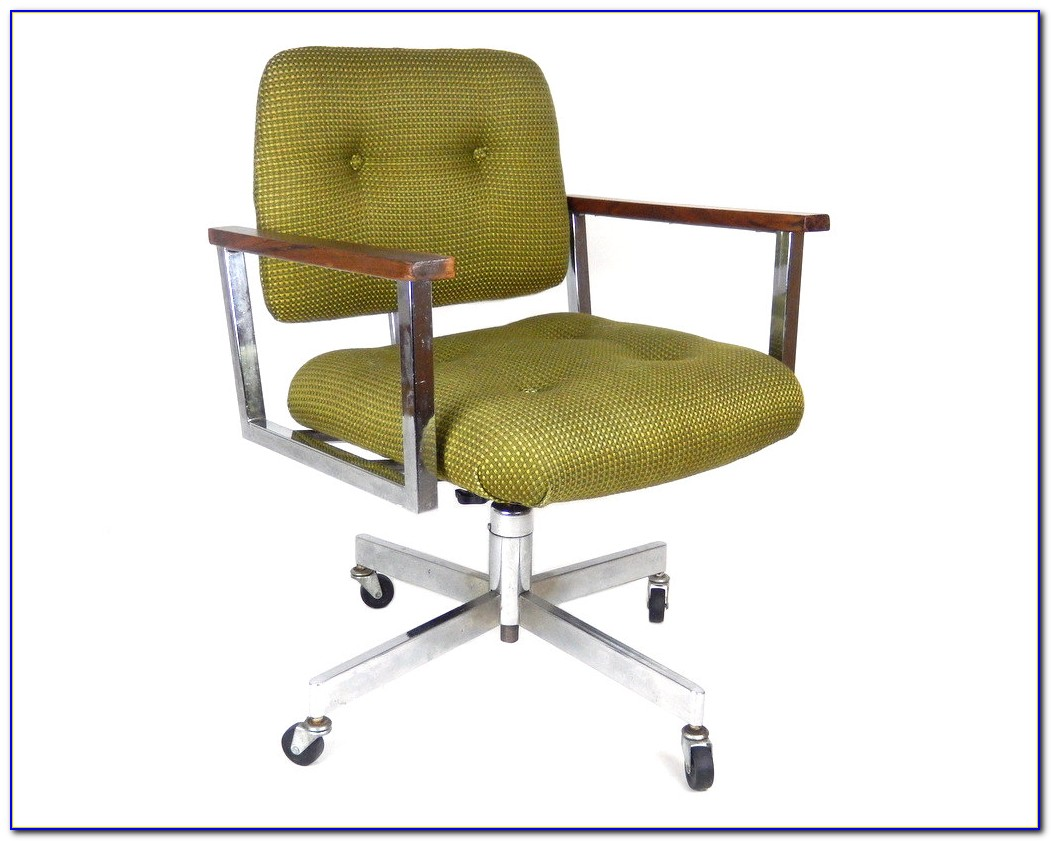 Vintage Mid Century Desk Chair