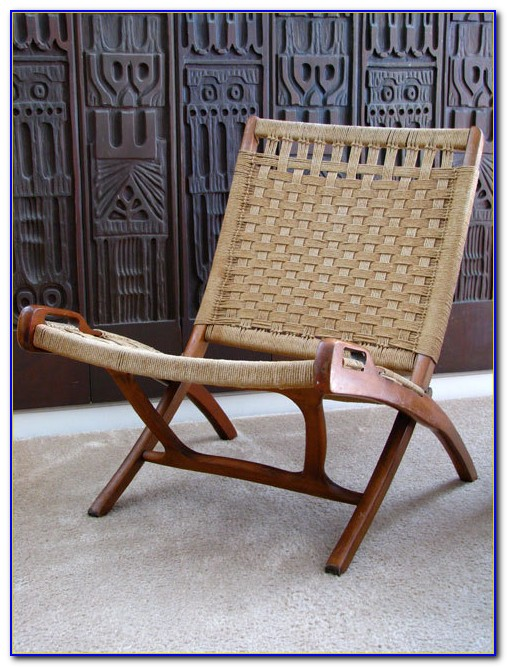 Vintage Mid Century Folding Chair