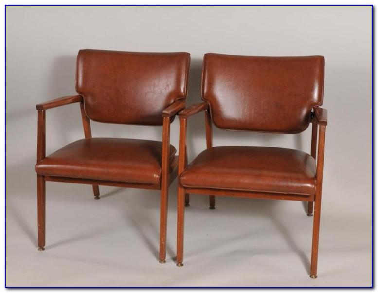 Vintage Mid Century Modern Armchair