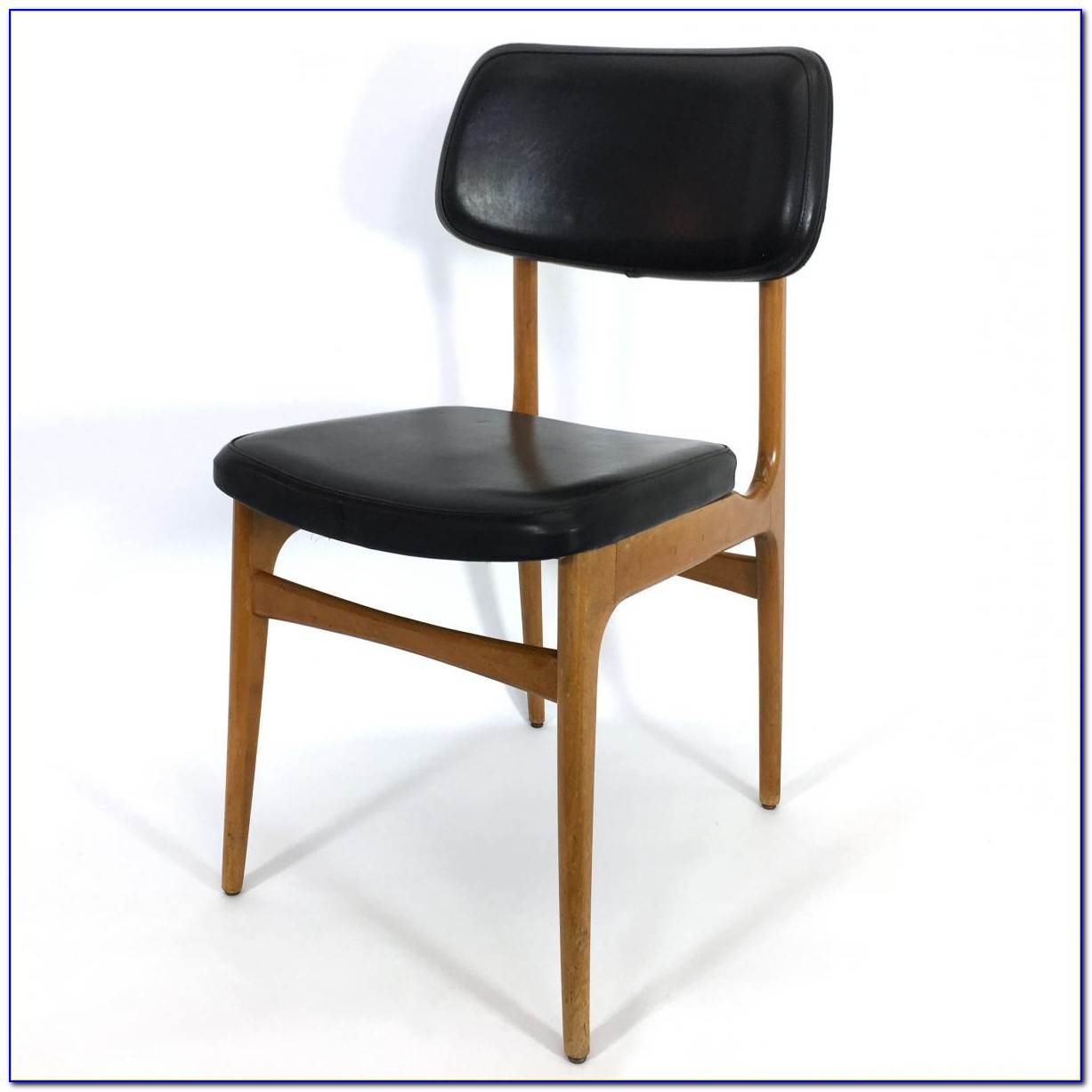 Vintage Oak Dining Chairs