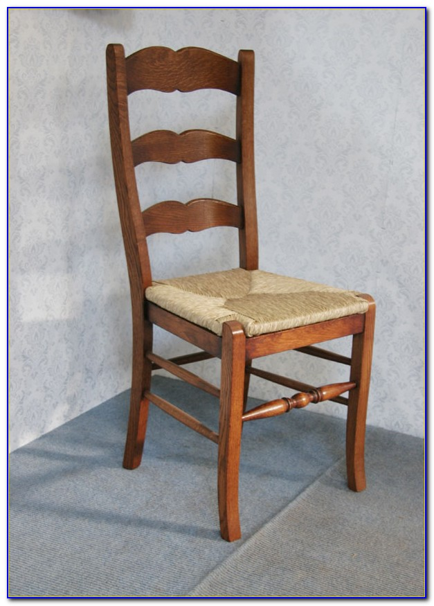 Vintage Shaker Ladder Back Chairs