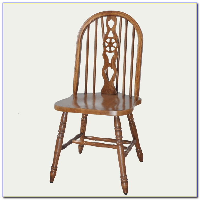 Vintage Wooden Folding Dining Chairs