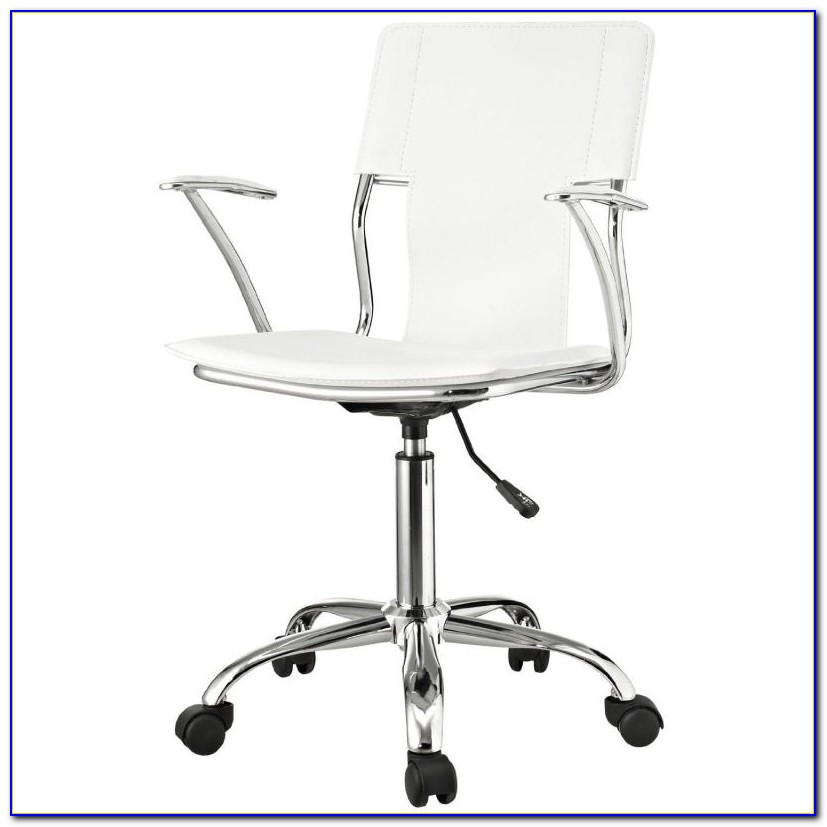 White Counter Height Office Chairs