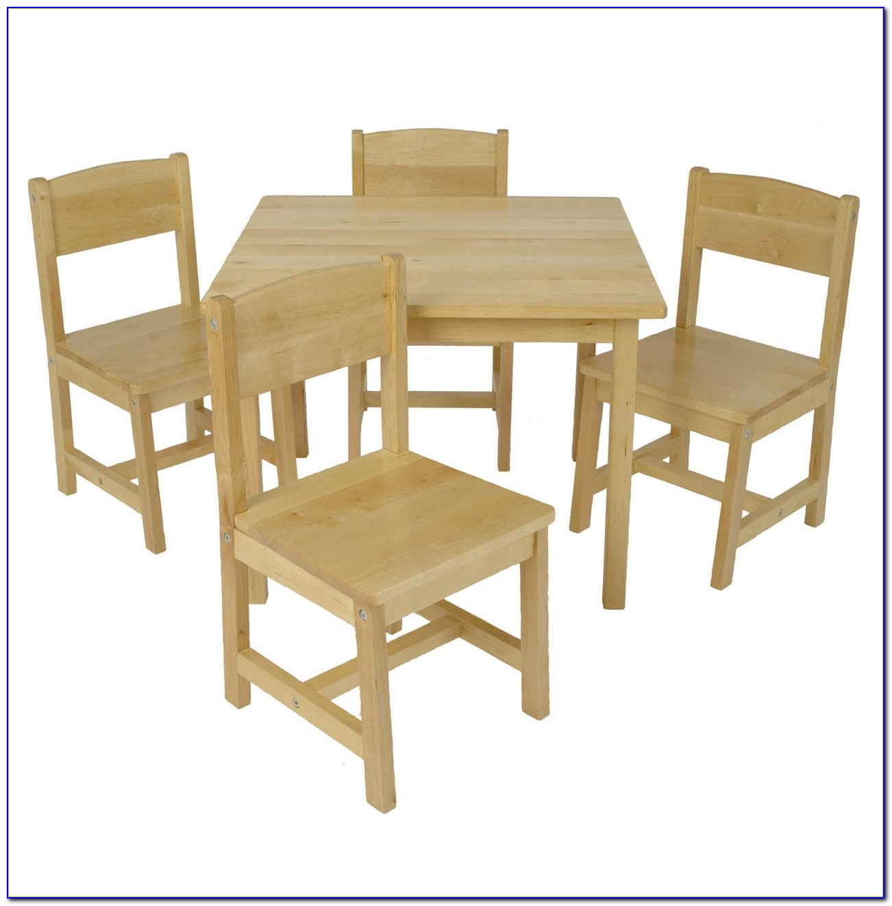 White Farm Table And Chairs