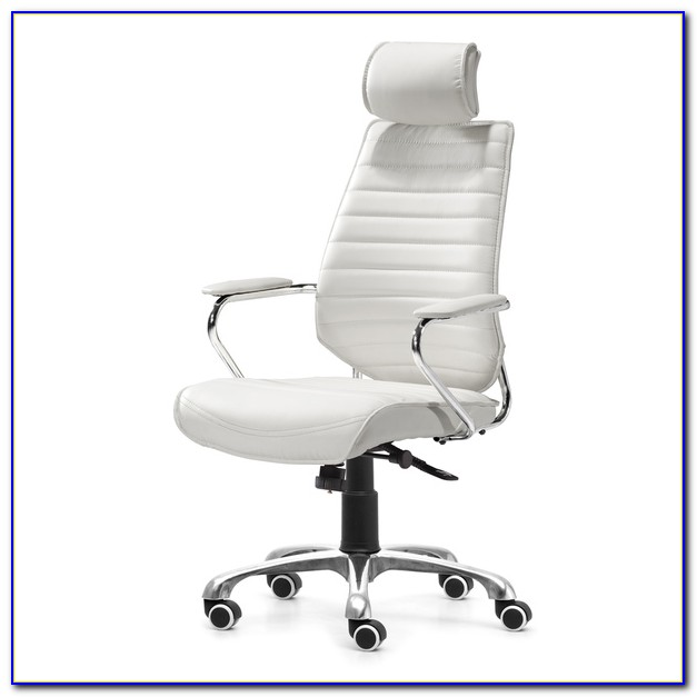 White High Back Executive Office Chair