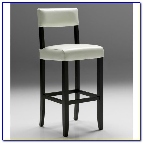 White Leather Bar Stools Amazon