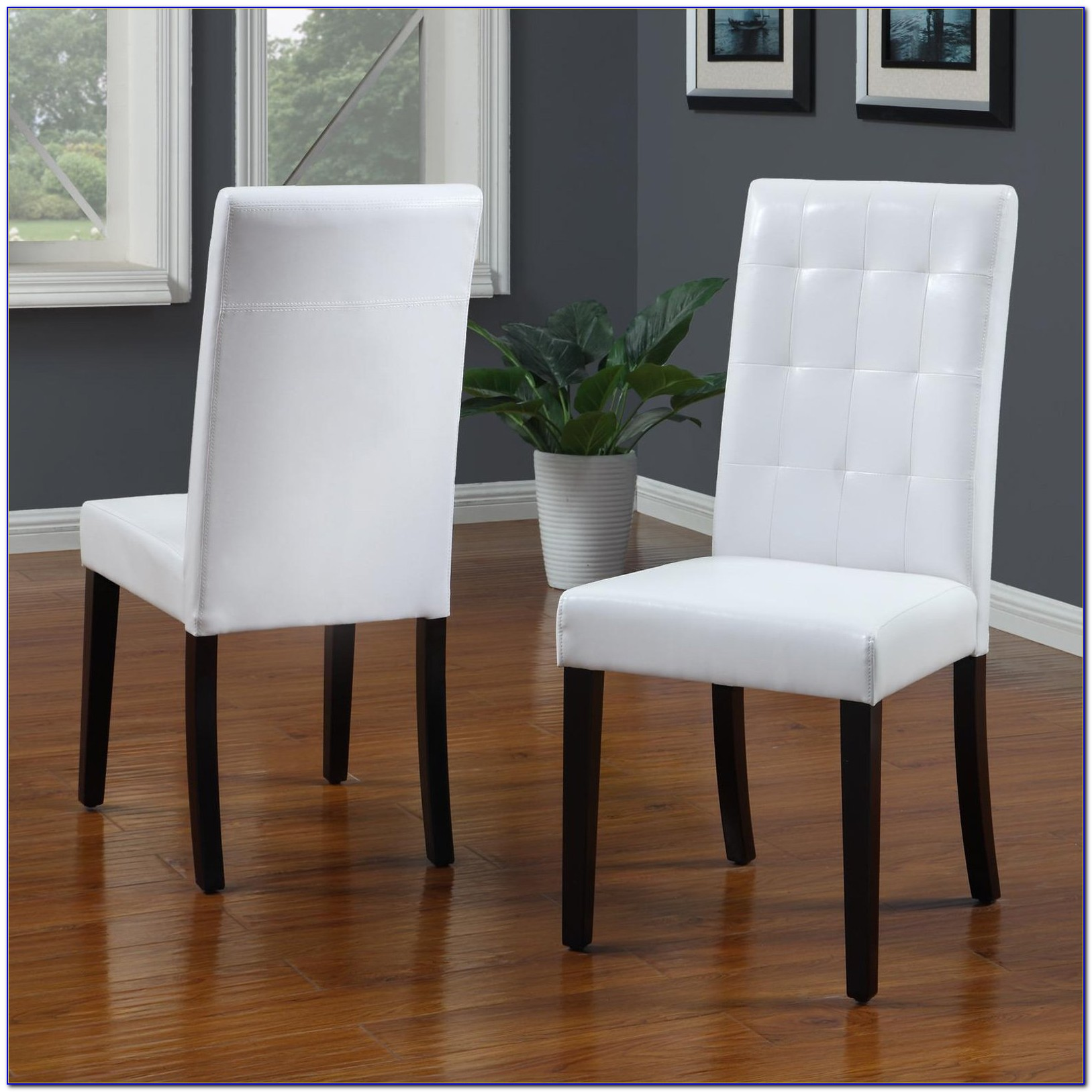 White Leather Dining Room Chairs Ottawa