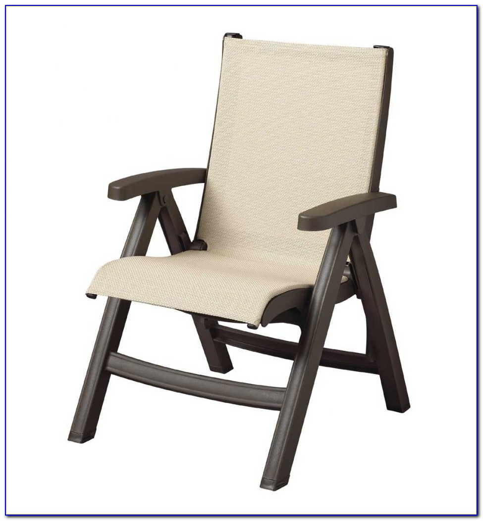 White Metal Outdoor Dining Chairs