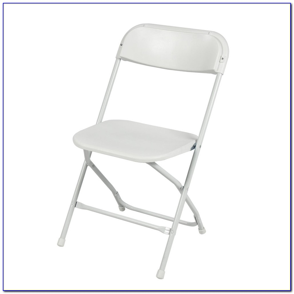 White Plastic Folding Chairs Target