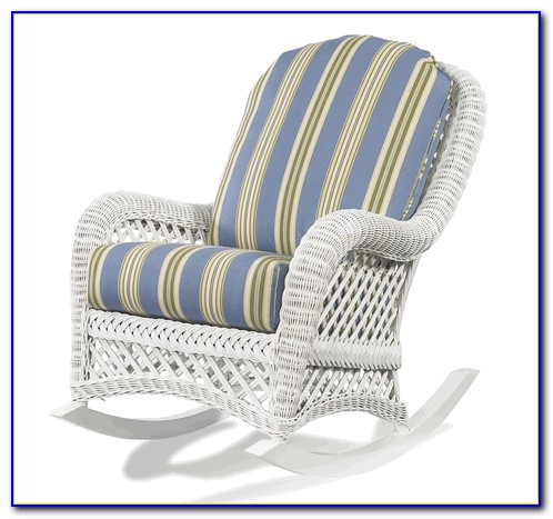 White Wicker Rocking Chair Australia