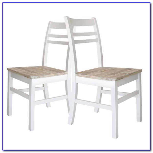 White Wood Dining Set