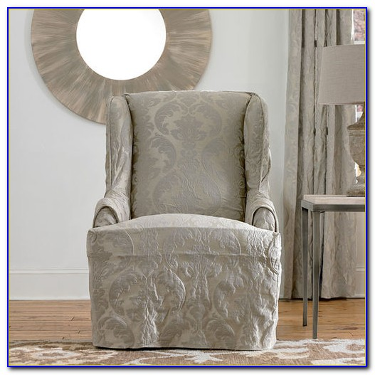 Wingback Chair Covers Bed Bath And Beyond