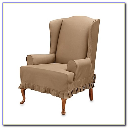 Wingback Chair Covers Linen