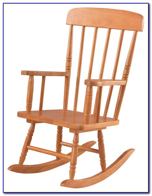 Wood Rocking Chair Indoor