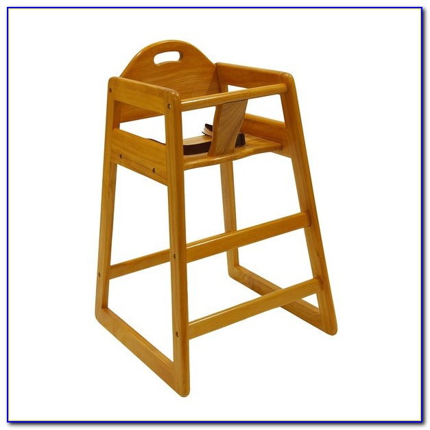 Wooden Baby High Chair Plans