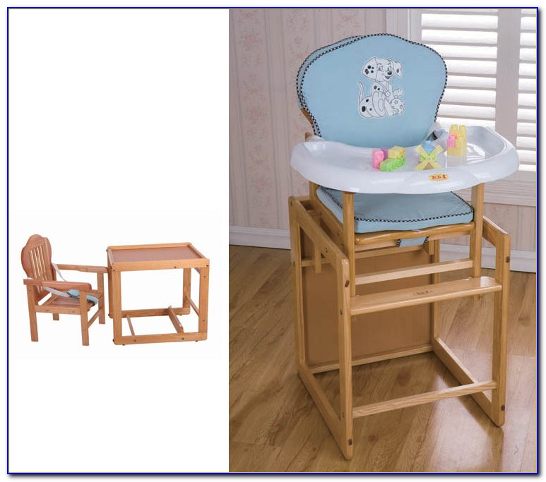 Wooden Baby High Chair South Africa