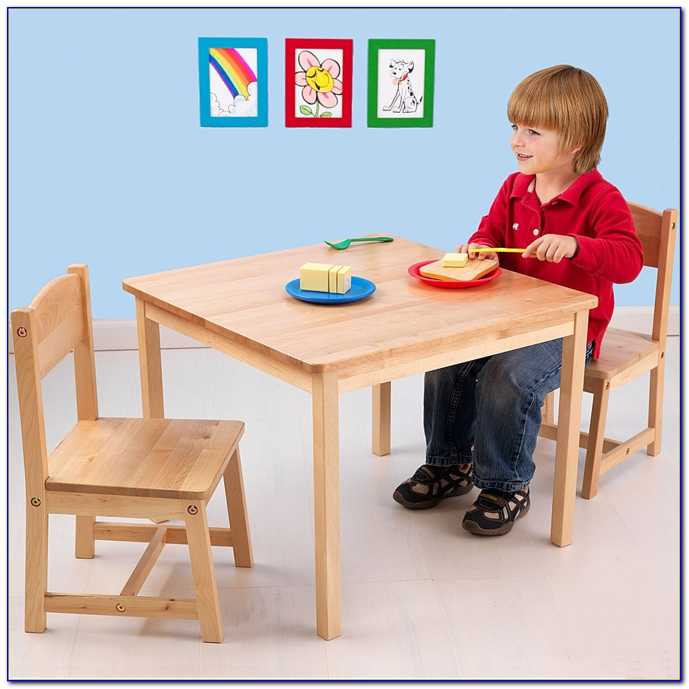 Wooden Toddler Table And Chairs Canada