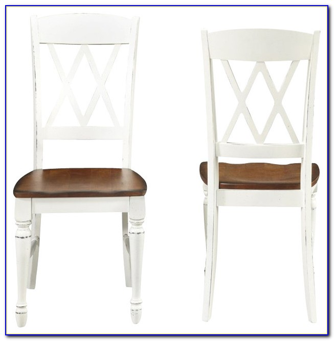 X Back Wood Dining Chairs