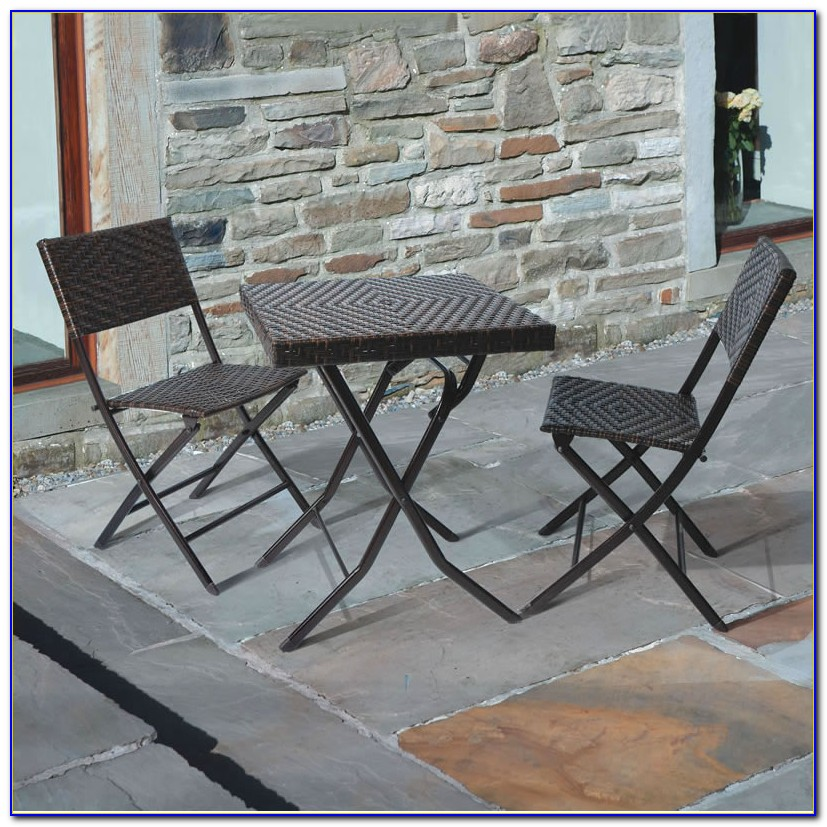 2 Chairs And Table Patio Set