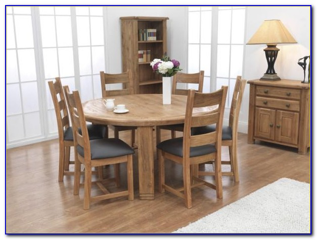 48 Round Table With 6 Chairs