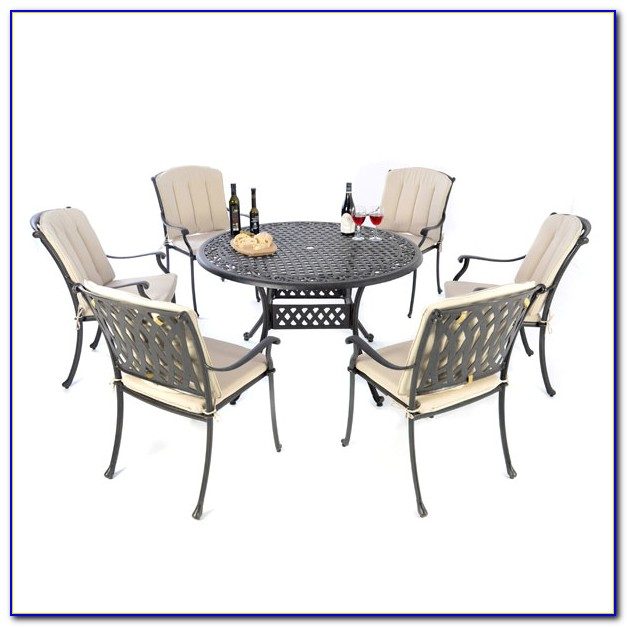 54 Round Table With 6 Chairs