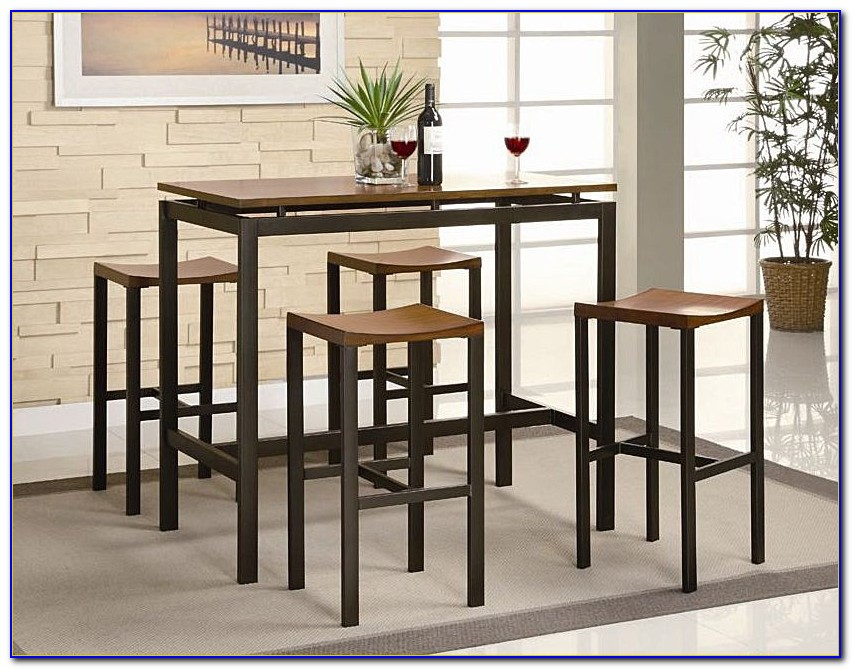 9 Pc Counter Height Dining Table And Chairs