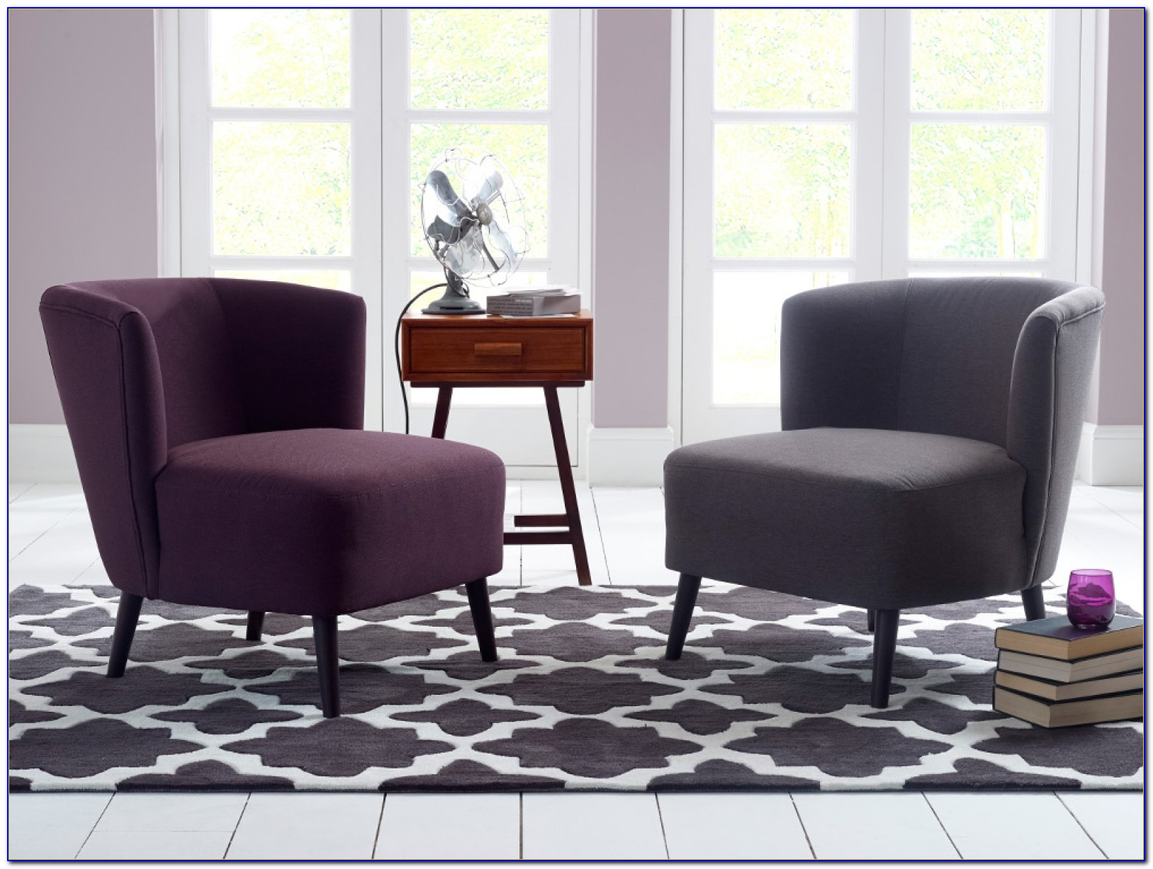 Accent Chair And Table For Bedroom